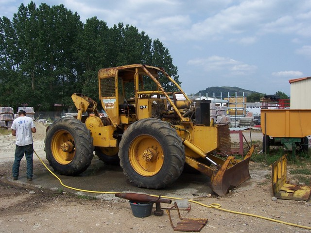 tracteur forestier latil t4t