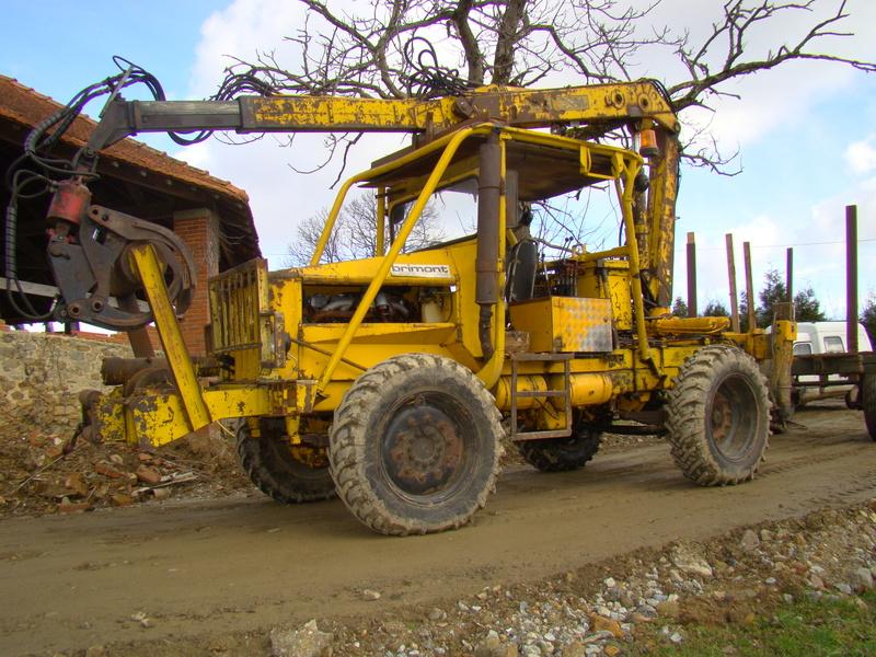 tracteur forestier latil tl 73 occasion